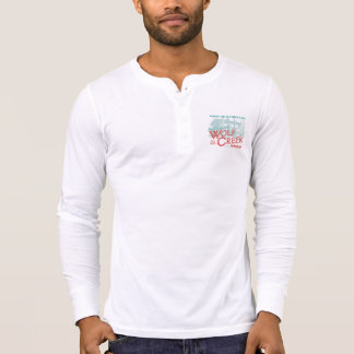 WC 2015 - Men's Canvas Henley LS White Shirt