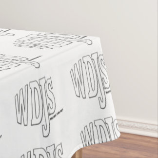 WDJS What Did Jesus Say Tablecloth