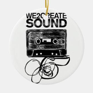 We2Create Sound K7 Christmas Ornament