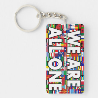 We Are All One 020 Key Ring