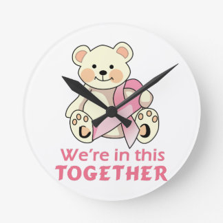 We Are Together Round Wall Clock