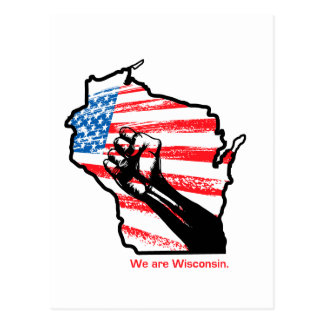 We are Wisconsin Postcard