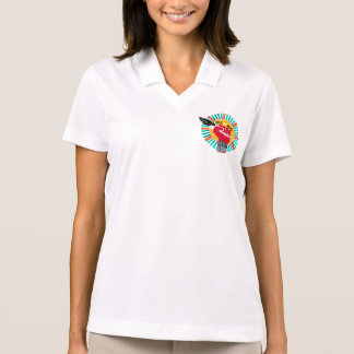 We Live Native = WE ARE IDLE NO MORE Polo Shirt