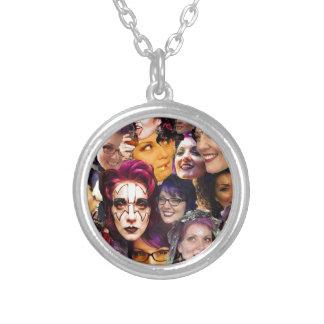 We Love Marta!! Round Pendant Necklace