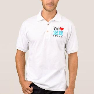 We love Shiga polo shirt