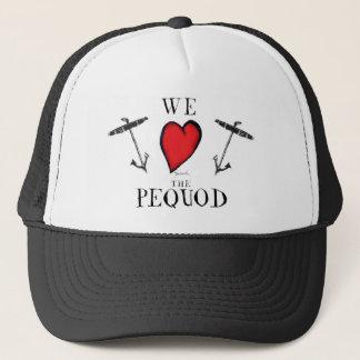 we love the pequod trucker hat