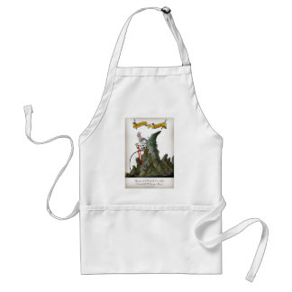 we love yorkshire downhill whippet race standard apron