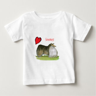 we luv shetland sheepdogs from Tony Fernandes Baby T-Shirt