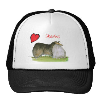 we luv shetland sheepdogs from Tony Fernandes Cap