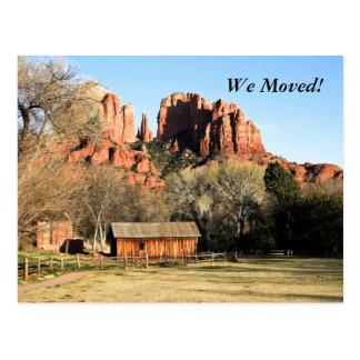 We Moved! Postcard