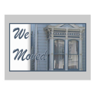 We Moved Postcard