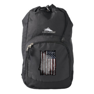 We The People American Flag High-Sierra Backpack