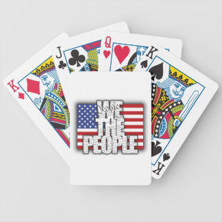 WE THE PEOPLE BICYCLE PLAYING CARDS