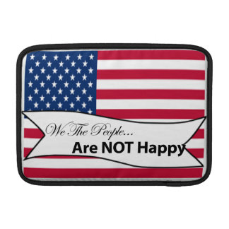 We The People Flag MacBook Sleeve