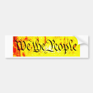 We The People The MUSEUM Zazzle Gifts Car Bumper Sticker