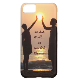 We touched the sun, Ocean Sunrise iPhone Case