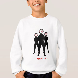 we want you, asked by soccer sweatshirt