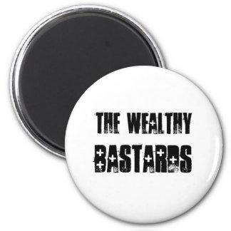 Wealthy Bastards 200pt Fridge Magnets