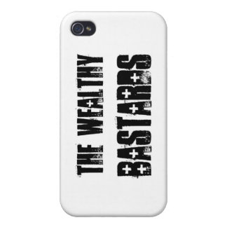 Wealthy Bastards iPhone 4/4S Cover
