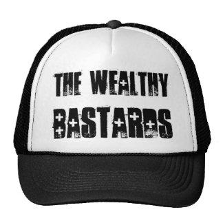 Wealthy Bastards trucker hat