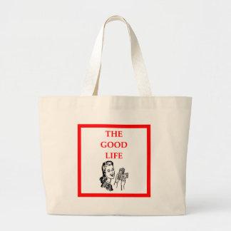 wealthy jumbo tote bag
