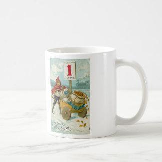 Wealthy New Year Basic White Mug