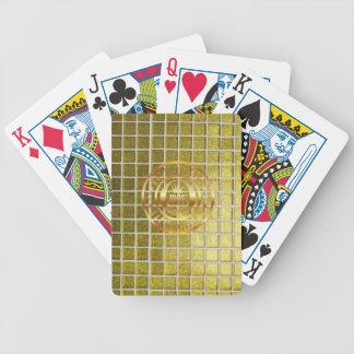 Wealthy Rich Gold Playing Cards