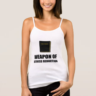 Weapon of Stress Reduction Bible Singlet