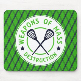 Weapons of Destruction Lacrosse Mousemat