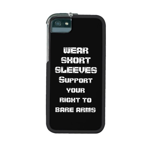 Wear Short Sleeves iPhone 5/5S Case