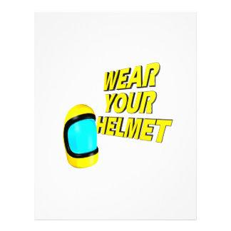 Wear Your Helmet 2 Custom Flyer