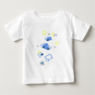 Weather-forecast-00 Baby T-Shirt
