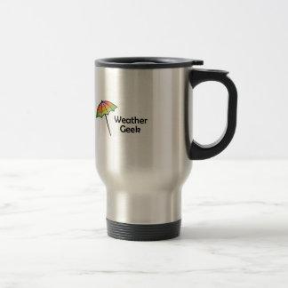 Weather Geek Stainless Steel Travel Mug