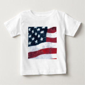 Weathered flag baby T-Shirt