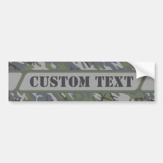 Weathered Outcrop Camo Bumper Sticker