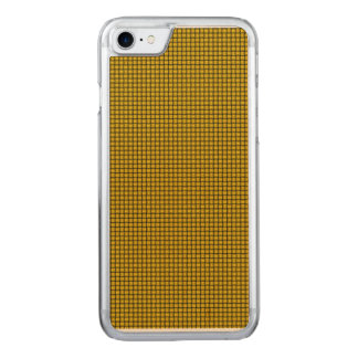 Weave - Tangerine Yellow Carved iPhone 8/7 Case