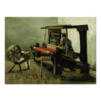 Weaver by Vincent Van Gogh Photo