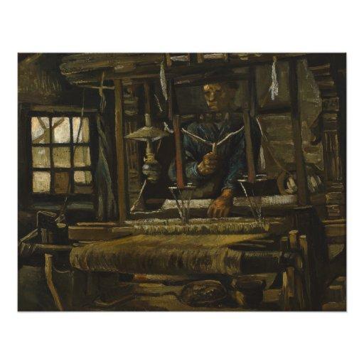 Weaver's Cottage by Vincent Van Gogh Photographic Print