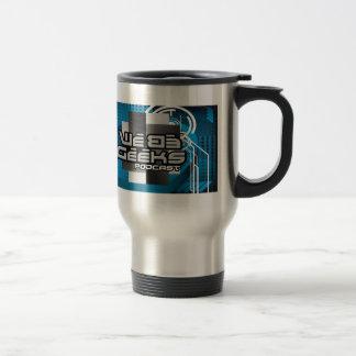 WeBeGeeks Podcast Stainless Steel Travel Mug