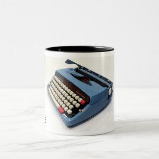 Webster XL-747 typewriter Two-Tone Mug
