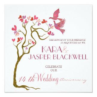 Wedding Anniversary photo invitations