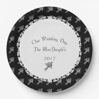 Wedding-Anniversary-Template_Silver-Roses(c) Paper Plate