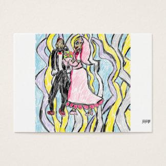 wedding art 2 business card