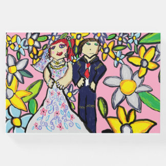 wedding art 2 guest book