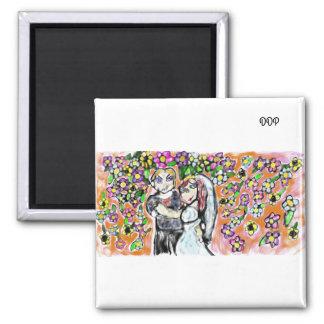 wedding art 4 magnet