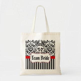 wedding bag,bachelorette bag,Team Bride Tote Bag