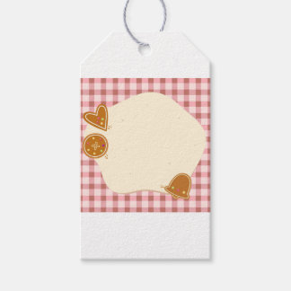 Wedding : bakery theme gift tags