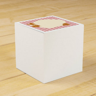 Wedding : bakery theme wedding favour boxes