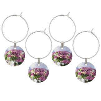 Wedding Bouquet Nuptials -Parents Wine Charm