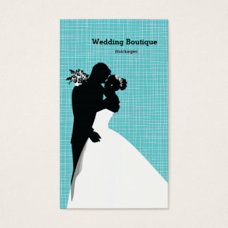Wedding boutique business card